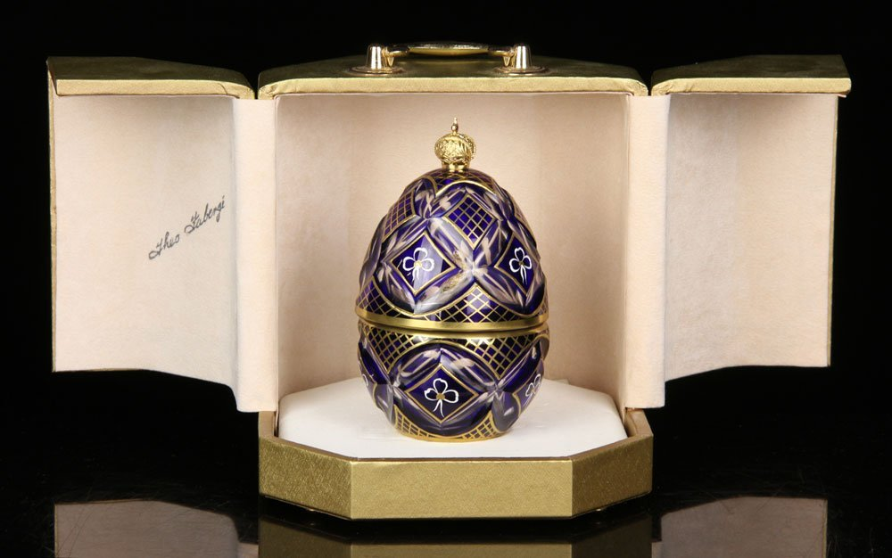 """Theo Faberge, """"The Winter Egg"""""""
