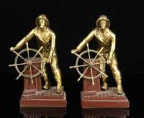 Pair of Gloucester Fisherman Bookends