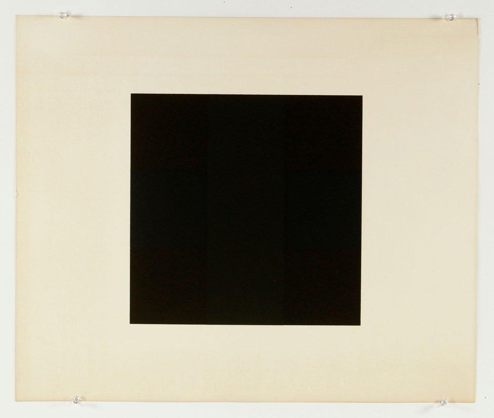 Reinhardt, Abstract, Lithograph