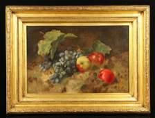 Attr. Ernest Gray, Still Life of Fruit, O/C