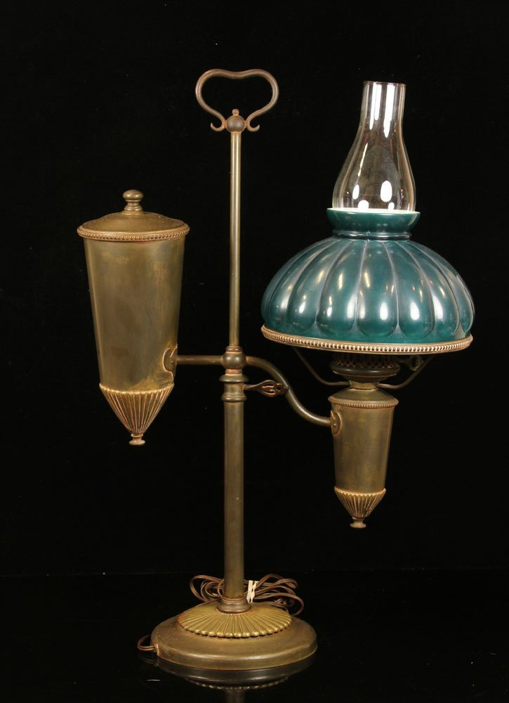 Antique Brass Student Lamp