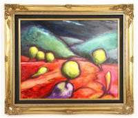 McCall, Abstract Landscape, Oil on Canvas