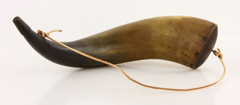 Revolutionary War Style Powder Horn