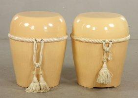 Pr. Modern Ceramic Stools