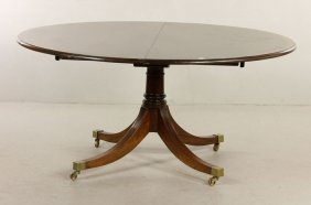 English Regency Style Dining Table