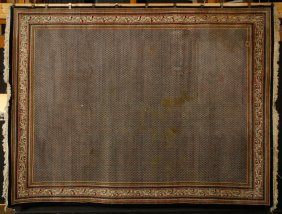 Semi Antique Persian Saraband Carpet