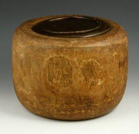 Primitive Wood Bucket