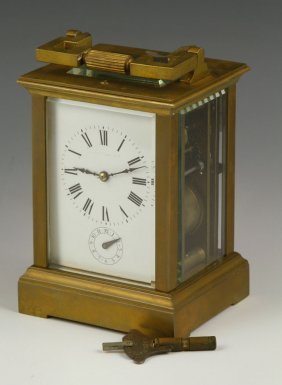 20th C. French Carriage Clock