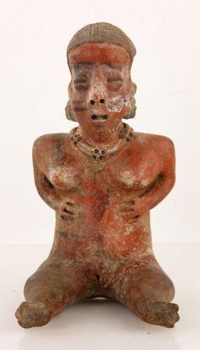Jalisco Pre Columbian Terracotta Figure