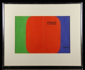 Kelly, Abstract, Lithograph