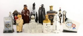 Collection Of Vintage Liquor Bottles