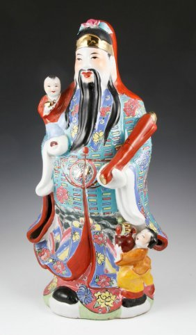Chinese Figure Of A Scholar
