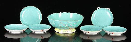 Seven Chinese Porcelain Items