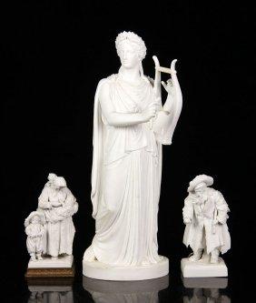 Three 19th C. Porcelain Figures