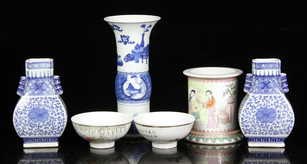 18th to 19th C. Chinese Porcelain Items