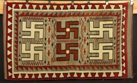 Native American Wool Carpet