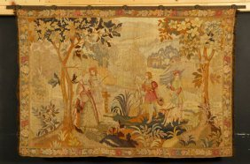 Continental Embroidered Tapestry