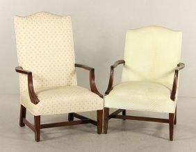 Two Martha Washington Chairs