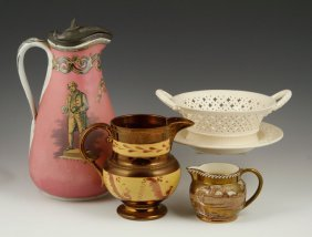 Collection Of English Pottery