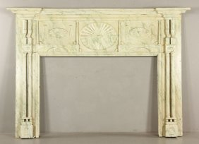 Federal Fireplace Mantle