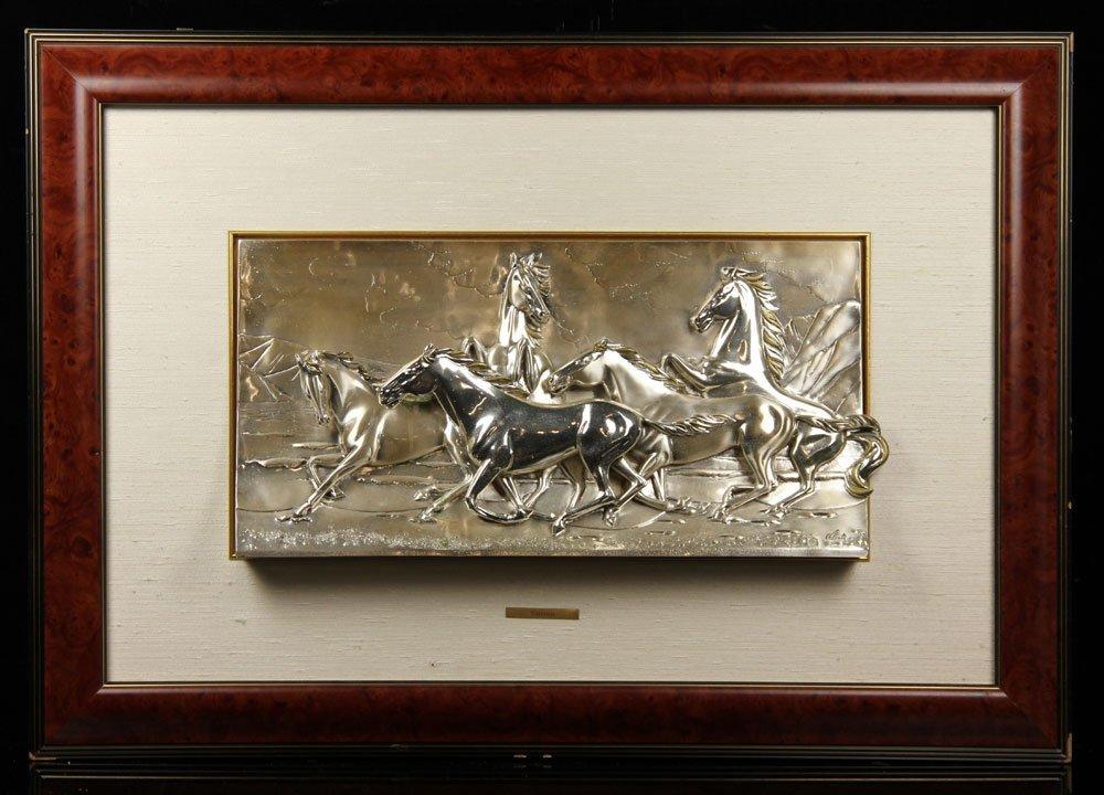 Valenti & Co. Silver Plaque