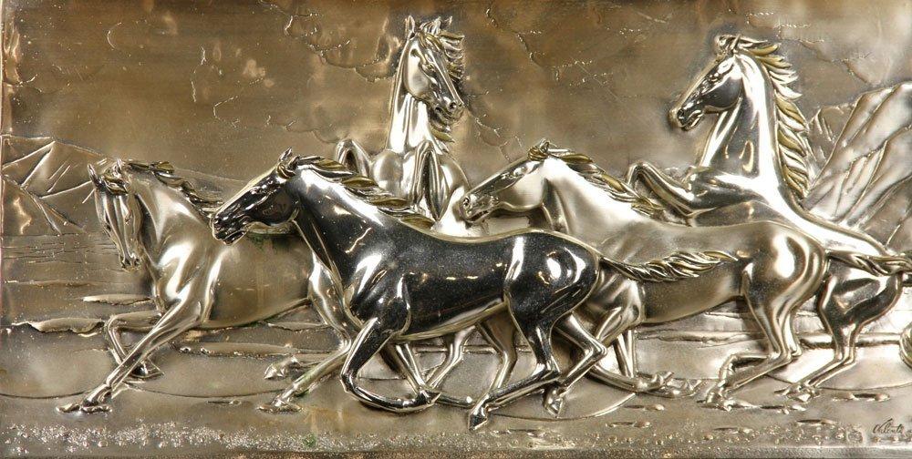 Valenti & Co. Silver Plaque - 2