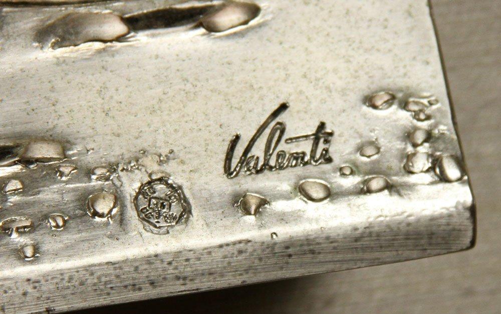 Valenti & Co. Silver Plaque - 3