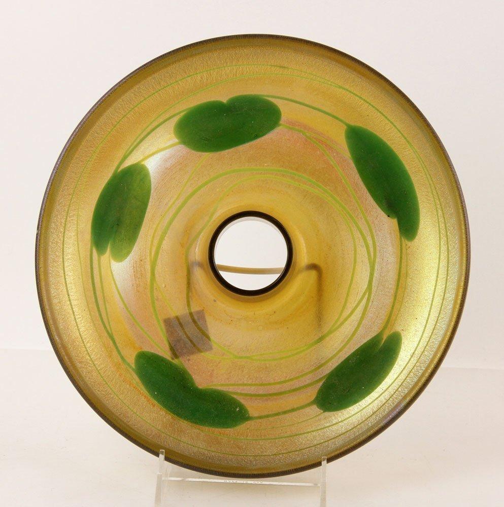 Louis C. Tiffany Furnaces Inc. Favrile Dish