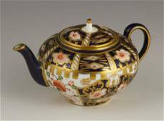 Early 20th C. Royal Crown Derby Miniature Teapot
