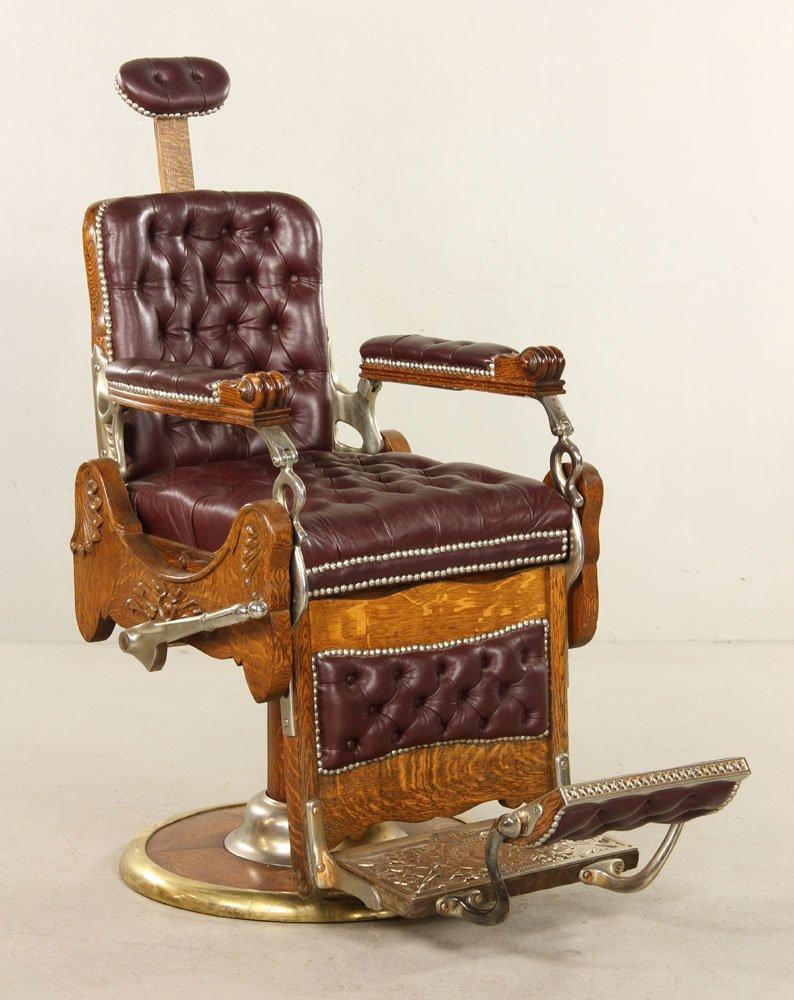 Koken Hydraulic Barber Chair