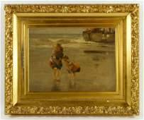 Grupp Oil Painting