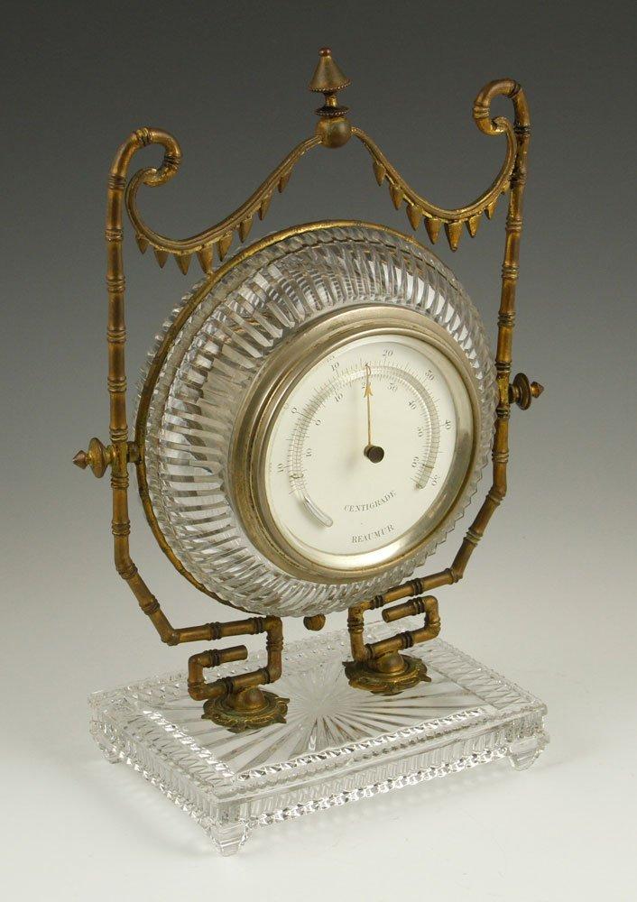 Baccarat Crystal Barometer