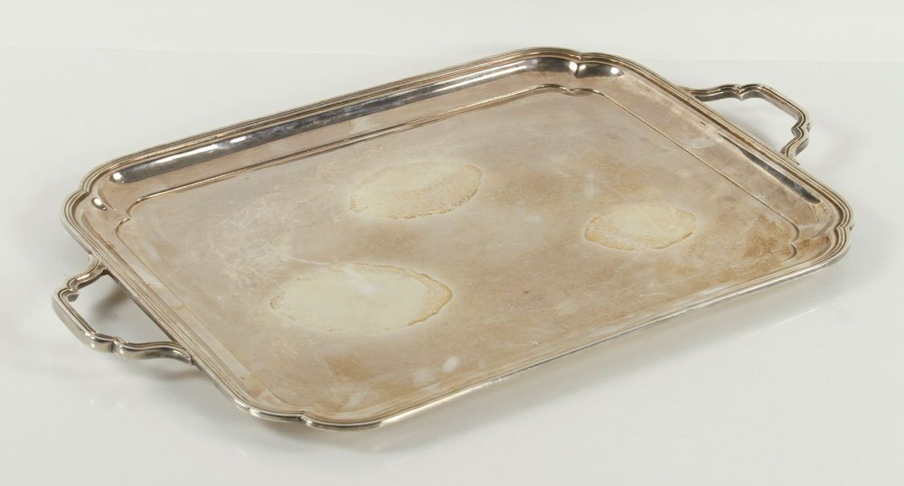 English Sterling Tray