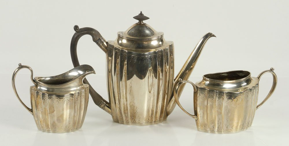 Marcus & Co. Sterling Tea Set