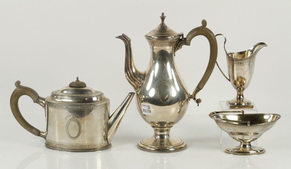 Federal Style Sterling Tea Set