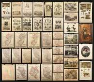Lot of Miscellaneous Engravings