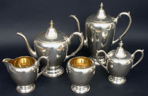 1020: 20TH C. F.B. ROGERS STERLING SILVER TEA SET