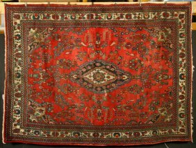 Antique Persian Hamadan Carpet