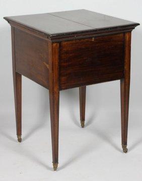Early 20th C. Mahogany Drinks Table