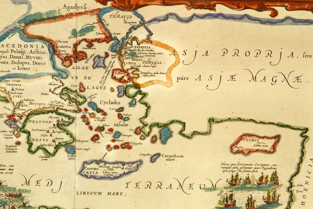 Map of Ancient Troy - 4