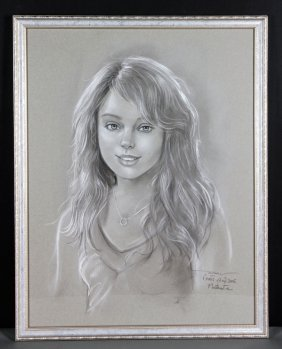 Portrait Of Tiffany Trump
