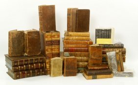 Lot Of 18th /19th C. Books