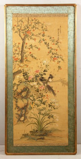 19th C. Chinese Watercolor Painting