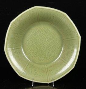 Long Quan Glazed Porcelain Charger