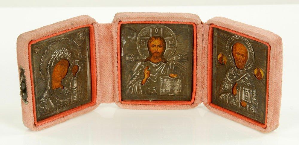 Russian Icon Triptych - 2