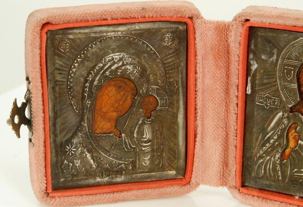 Russian Icon Triptych - 4