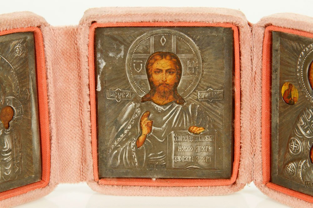 Russian Icon Triptych - 5