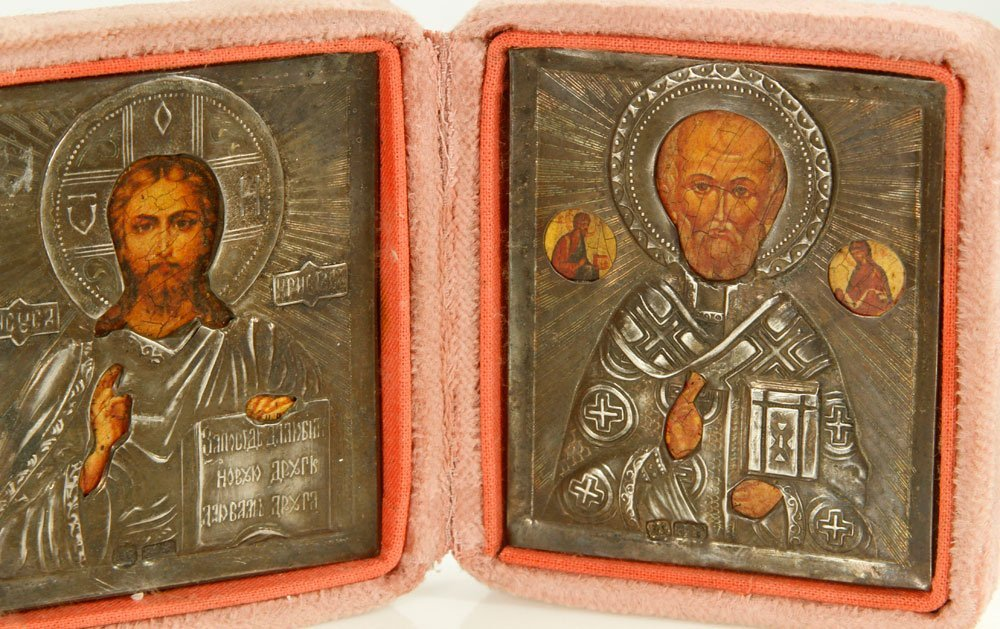 Russian Icon Triptych - 6