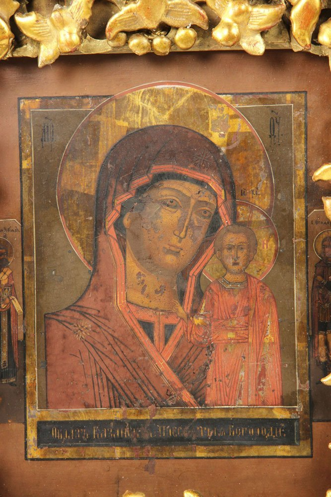 19th C. Russian Icon - 2