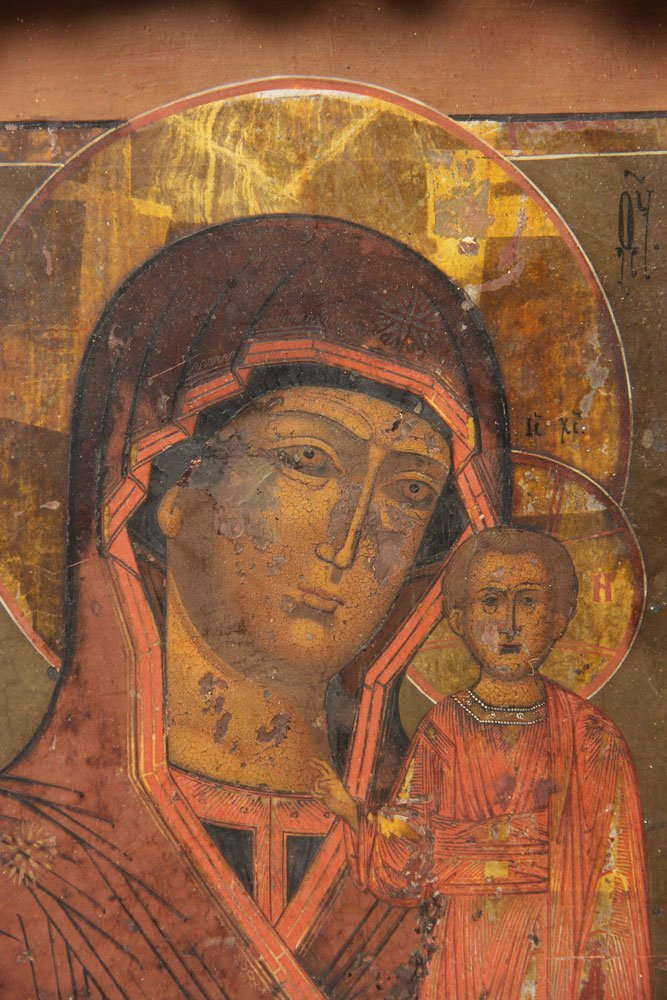 19th C. Russian Icon - 3